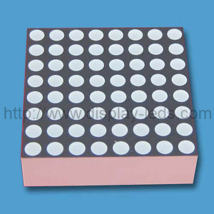 0,7 inci 8x8 warna ganda LED Dot Matrix