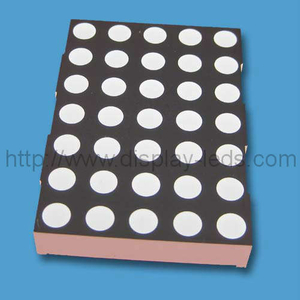 2 inci 5x7 LED Dot Matrix